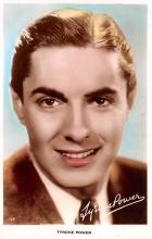 act016135 - Tyrone Power Movie Star Actor Actress Film Star Postcard, Old Vintage Antique Post Card