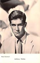 act016137 - Anthony Perkins Movie Star Actor Actress Film Star Postcard, Old Vintage Antique Post Card