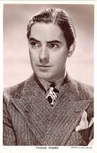 act016139 - Tyrone Power Movie Star Actor Actress Film Star Postcard, Old Vintage Antique Post Card