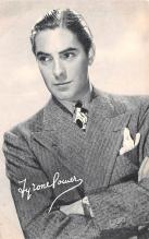 act016141 - Tyrone Power Movie Star Actor Actress Film Star Postcard, Old Vintage Antique Post Card
