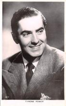 act016145 - Tyrone Power Movie Star Actor Actress Film Star Postcard, Old Vintage Antique Post Card