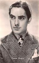 act016146 - Tyrone Power Movie Star Actor Actress Film Star Postcard, Old Vintage Antique Post Card
