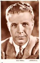 act016148 - Dick Powell Movie Star Actor Actress Film Star Postcard, Old Vintage Antique Post Card