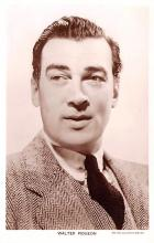 act016158 - Walter Pidgeon Movie Star Actor Actress Film Star Postcard, Old Vintage Antique Post Card