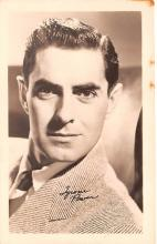 act016162 - Tyrone Power Movie Star Actor Actress Film Star Postcard, Old Vintage Antique Post Card