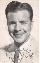 act016163 - Dick Powell Movie Star Actor Actress Film Star Postcard, Old Vintage Antique Post Card