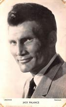 act016170 - Jack Palance Movie Star Actor Actress Film Star Postcard, Old Vintage Antique Post Card