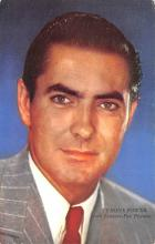 act016184 - Tyrone Power, 20th Century Fox Star Movie Star Actor Actress Film Star Postcard, Old Vintage Antique Post Card