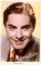 act016188 - Tyrone Power Movie Star Actor Actress Film Star Postcard, Old Vintage Antique Post Card