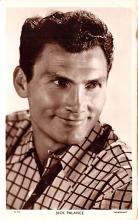 act016197 - Jack Palance Movie Star Actor Actress Film Star Postcard, Old Vintage Antique Post Card