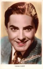 act016206 - Tyrone Power Movie Star Actor Actress Film Star Postcard, Old Vintage Antique Post Card