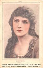 act016234 - Mary Pickford, Tess of the Storm Country Movie Star Actor Actress Film Star Postcard, Old Vintage Antique Post Card