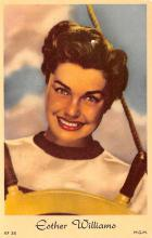 act017020 - Esther Williams Movie Star Actor Actress Film Star Postcard, Old Vintage Antique Post Card