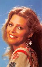 act017025 - Lindsay Wagner Movie Star Actor Actress Film Star Postcard, Old Vintage Antique Post Card