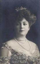 act018015 - Lillian Russell Actress / Actor Postcard Post Card Old Vintage Antique