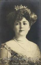 act018058 - Lillian Russell Actress / Actor Postcard Post Card Old Vintage Antique