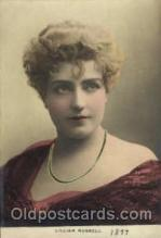 act018071 - Lillian Russell Actress / Actor Postcard Post Card Old Vintage Antique