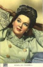 act018075 - Rosalind Russell Actor, Actress, Movie Star, Postcard Post Card
