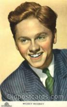 act018086 - Mickey Rooney Actor, Actress, Movie Star, Postcard Post Card