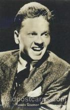 act018092 - Mickey Rooney Actor, Actress, Movie Star, Postcard Post Card