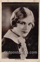 act018117 - Esther Ralston Movie Actor / Actress, Entertainment Postcard Post Card