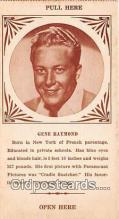 act018135 - Gene Raymond Movie Actor / Actress, Entertainment Postcard Post Card