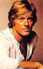act018143 - Robert Redford Movie Star Actor Actress Film Star Postcard, Old Vintage Antique Post Card