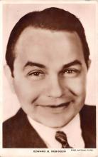 act018150 - Edward G Robinson Movie Star Actor Actress Film Star Postcard, Old Vintage Antique Post Card