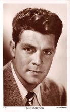 act018154 - Dale Robertson Movie Star Actor Actress Film Star Postcard, Old Vintage Antique Post Card