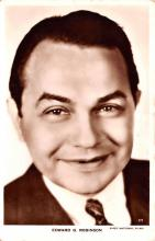 act018155 - Edward G Robinson Movie Star Actor Actress Film Star Postcard, Old Vintage Antique Post Card