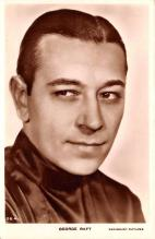 act018161 - George Raft Movie Star Actor Actress Film Star Postcard, Old Vintage Antique Post Card