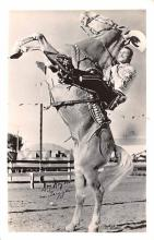act018167 - Roy Rogers on Trigger Movie Star Actor Actress Film Star Postcard, Old Vintage Antique Post Card