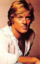 act018176 - Robert Redford Movie Star Actor Actress Film Star Postcard, Old Vintage Antique Post Card