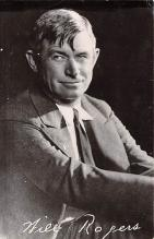 act018181 - Will Rogers Movie Star Actor Actress Film Star Postcard, Old Vintage Antique Post Card