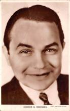 act018183 - Edward G Robinson Movie Star Actor Actress Film Star Postcard, Old Vintage Antique Post Card