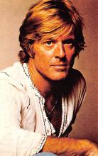 act018185 - Robert Redford Movie Star Actor Actress Film Star Postcard, Old Vintage Antique Post Card