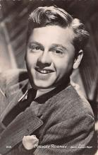 act018186 - Mickey Rooney Movie Star Actor Actress Film Star Postcard, Old Vintage Antique Post Card