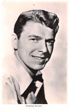 act018194 - Ronald Reagan Movie Star Actor Actress Film Star Postcard, Old Vintage Antique Post Card