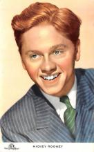 act018195 - Mickey Rooney Movie Star Actor Actress Film Star Postcard, Old Vintage Antique Post Card