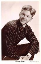 act018199 - Mickey Rooney Movie Star Actor Actress Film Star Postcard, Old Vintage Antique Post Card