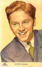 act018200 - Mickey Rooney Movie Star Actor Actress Film Star Postcard, Old Vintage Antique Post Card
