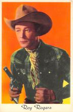 act018204 - Roy Rogers Movie Star Actor Actress Film Star Postcard, Old Vintage Antique Post Card