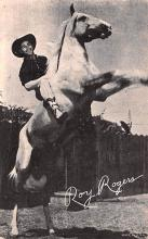 act018205 - Roy Rogers Movie Star Actor Actress Film Star Postcard, Old Vintage Antique Post Card