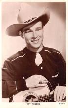 act018207 - Roy Rogers Movie Star Actor Actress Film Star Postcard, Old Vintage Antique Post Card