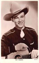 act018208 - Roy Rogers Movie Star Actor Actress Film Star Postcard, Old Vintage Antique Post Card