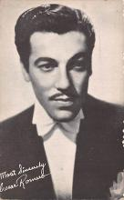 act018212 - Cesar Romero Movie Star Actor Actress Film Star Postcard, Old Vintage Antique Post Card