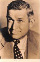 act018213 - Will Rogers Movie Star Actor Actress Film Star Postcard, Old Vintage Antique Post Card