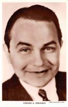 act018217 - Edward G Robinson Movie Star Actor Actress Film Star Postcard, Old Vintage Antique Post Card