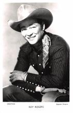 act018218 - Roy Rogers Movie Star Actor Actress Film Star Postcard, Old Vintage Antique Post Card