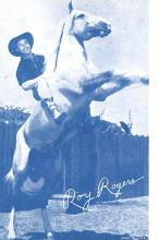 act018219 - Roy Rogers Movie Star Actor Actress Film Star Postcard, Old Vintage Antique Post Card